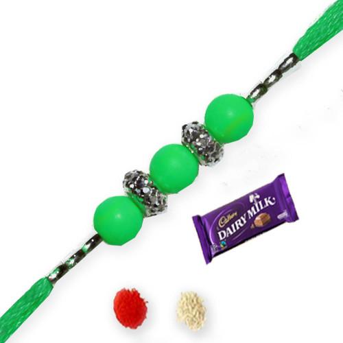 Green Rakhi