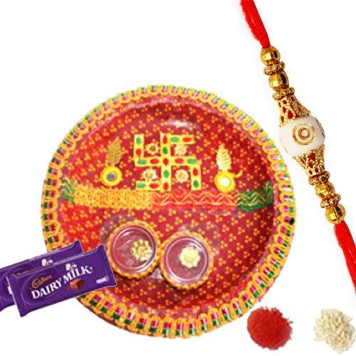 Amazing Rakhi Pooja Thali